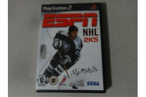 ESPN NHL 2K5 Sony Playstation 2 PS2 Game Complete Free ...