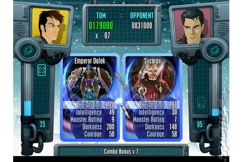 Screens: Doctor Who: Top Trumps - PS2 (3 of 9)