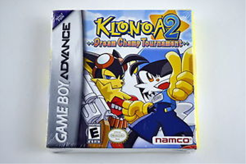 Klonoa 2: Dream Champ Tournament Nintendo Game Boy Advance ...