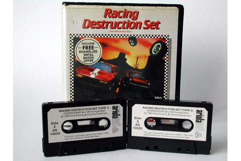 Commodore Info Page - Cassette: Racing Destruction Set [de]