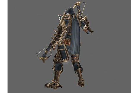 Diablo III character - Male Demon Hunter 3d model | Diablo ...