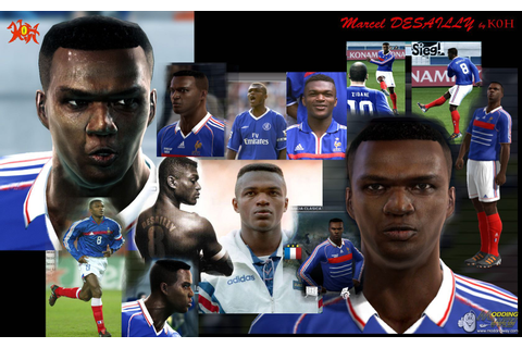 Marcel Desailly Face - Pro Evolution Soccer 2012 at ModdingWay