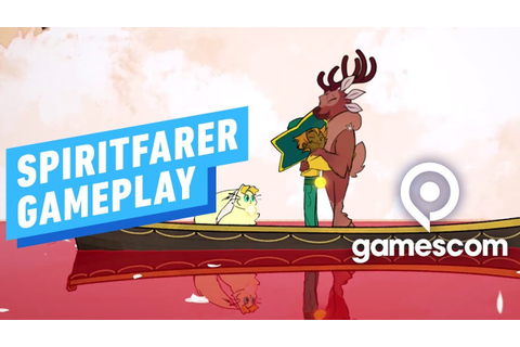 15 Minutes of Spiritfarer Gameplay - Gamescom 2019 - YouTube