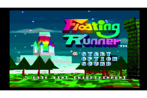 Floating Runner Game Sample - PS1 - YouTube