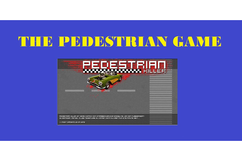 The Pedestrian Game Traffic Light Juego