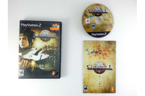 Genji Dawn of the Samurai game for Playstation 2 (Complete ...