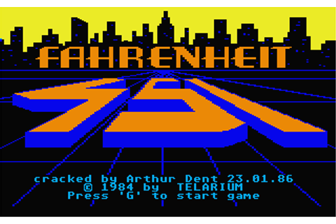 Download Fahrenheit 451 - My Abandonware