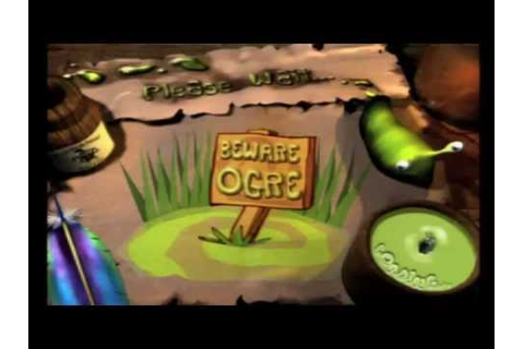 Game Gamboling: Shrek Treasure Hunt (PS1) Review 2/2 - YouTube