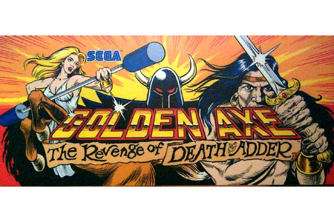 Golden Axe: The Revenge Of Death Adder - Videogame by Sega