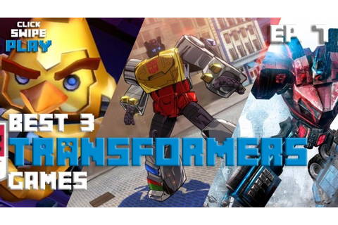 The three best Transformers games