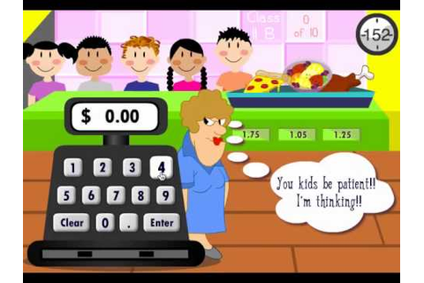 Lunch Lady - Counting Money Game - YouTube