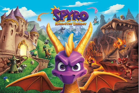 Spyro Reignited Trilogy's Box Art Takes a Cue From Crash ...