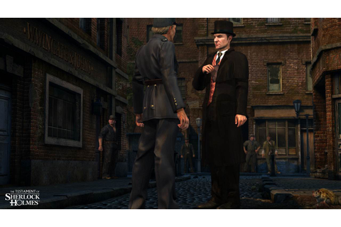The Testament of Sherlock Holmes: Four fresh screenshots