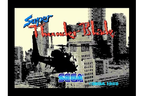 Mega Drive Longplay [213] Super Thunder Blade - YouTube