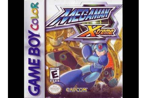 Mega Man Xtreme (Nintendo Game Boy Color) - Hard Mode ...