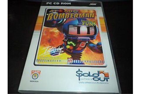 Atomic Bomberman pc game | eBay