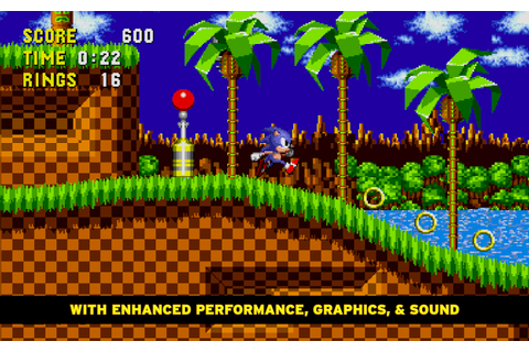 Sonic The Hedgehog 1.0.4 Mod Levels Unlocked apk download ...