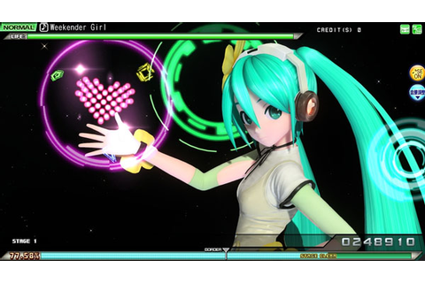 Sega gauging interest in Hatsune Miku: Project Diva Arcade ...