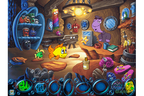 Freddi Fish 5: The Case of the Creature of Coral Cove (Mac ...