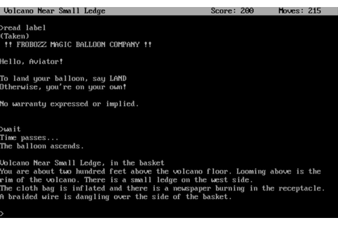 Zork II: The Wizard of Frobozz Download - Old Games Download