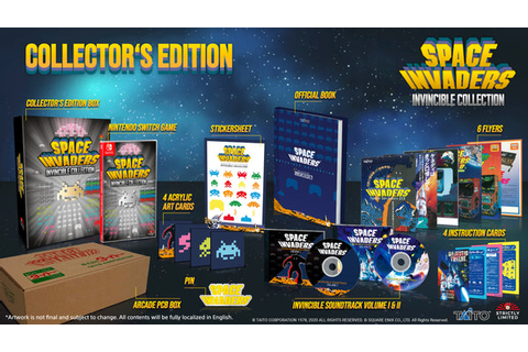 Space Invaders Invincible Collection Collector's Edition ...