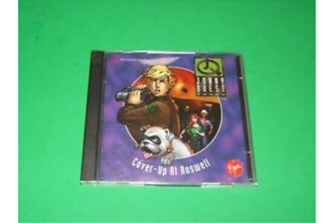 JONNY QUEST Cover-Up At Roswell 1996 PC Game | eBay