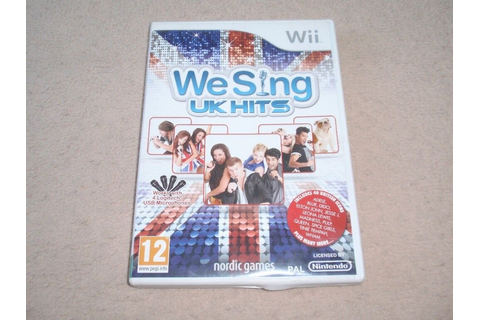 We Sing UK Hits for Nintendo wii game | in Stockport ...