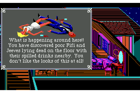 The Adventure Gamer: Game 34: The Colonel's Bequest - Star ...