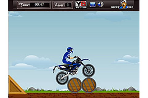 Play Moto Bike Mania game online - Y8.COM