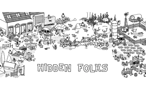Hidden Folks – search intricate landscapes in this ...