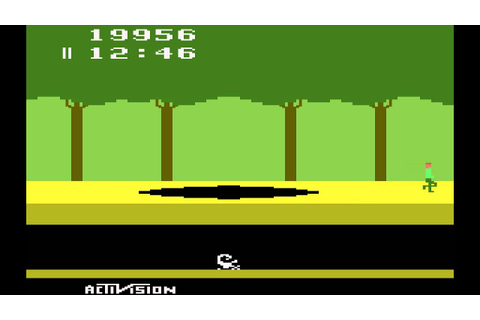 Atari 2600 Game: Pitfall (1982 Activision) - YouTube