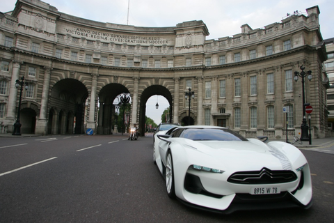 GTbyCitroen on the Streets of London - autoevolution