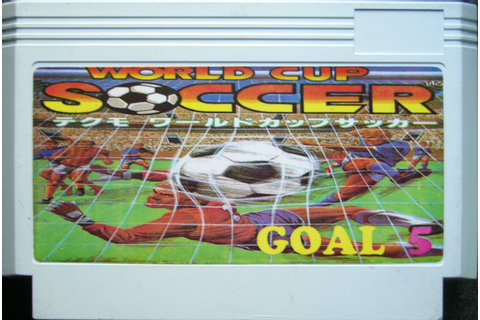 Family Game En Argentina: Tecmo World Cup Soccer