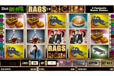 Review of Rags to Riches (Video Slot from Amaya) - SlotCatalog