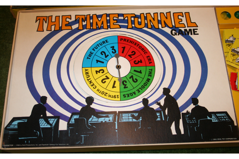 The Time Tunnel Board Game | Little Storping Museum