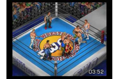 PS2 Underrated Gem: Fire Pro Wrestling Returns - YouTube