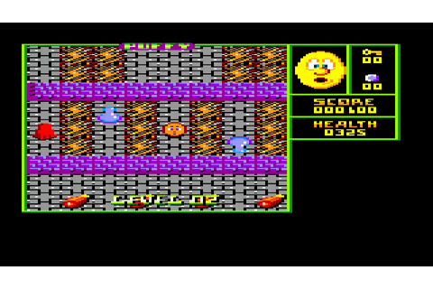 AMSTRAD CPC PUFFY'S SAGA INTRO AND GAME IT IS AN ...