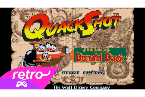 [Full GamePlay] Quackshot starring Donald Duck [Sega ...