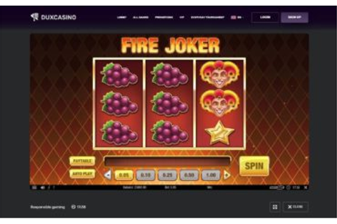Dux Casino Review - Safe or Scam?