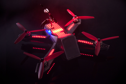 how 'the da vinci of drones' ryan gury designed the DRL racer3