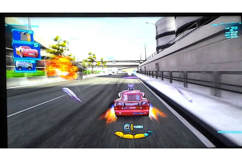 Cars 2 the video game PS3: Lightning McQueen Player - YouTube