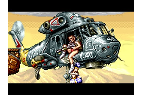 Gunforce II (Metal Slug predecessor) All Bosses (No Damage ...