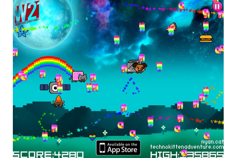 Techno Kitten Adenture: Nyan Cat Pack iOS EXCLSUIVE ...