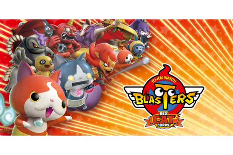 YO-KAI WATCH BLASTERS: Red Cat Corps | Nintendo 3DS ...
