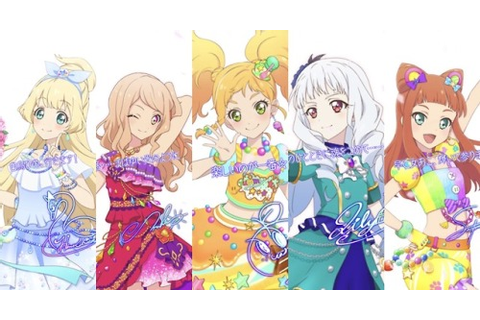 aikatsu game | Tumblr