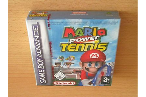 MARIO POWER TENNIS / Nintendo Game Boy Advance / ovp ...