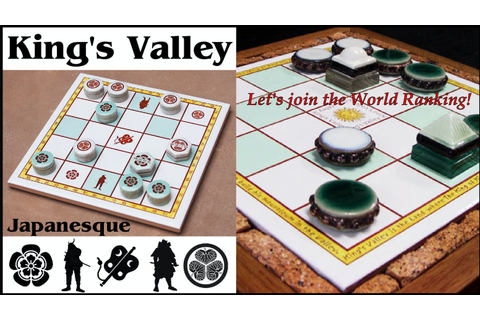 King's Valley board game by Doug Masiel —Kickstarter