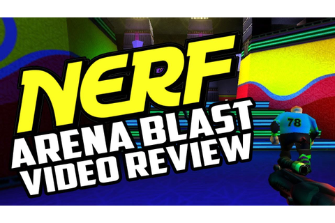 Retro Review - Nerf Arena Blast PC Game Review - YouTube
