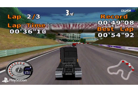Download Game PSX ISO All Star Racing 2 | Main PS1