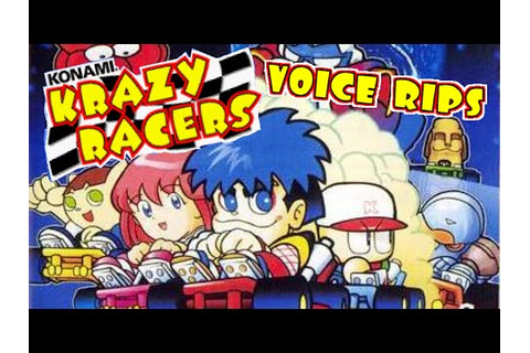Konami Krazy Racers Voice Rips - YouTube